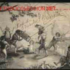 Postales: EL ESCORIAL: TAPIZ DE GOYA (EL JUEGO DE LA VAQUILLA). Lote 424438