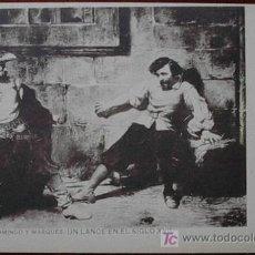 Postales: POSTAL HAUSER Y MENET SERIE II- NUM 7 REVERSO SIN DIVIDIR. Lote 25756754