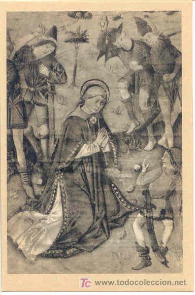 TARJETA POSTAL CATEDRAL DE AVILA. LIBRO DE CORO. (Postales - Postales Temáticas - Arte)