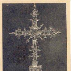 Postales: TARJETA POSTAL CATEDRAL DE AVILA. MUSEO. CRUZ PROCESIONAL DE PLATA. SIGLO XV.. Lote 3407415