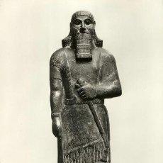 Postales: A0742 ASIRIA ARQUEOLOGIA ESTATUA DEL REY ASHUR.NASIR-PAL II DE ASIRIA- &ALF. Lote 3759736