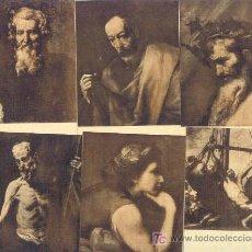 Postales: LOTE DE 6 POSTALES DE DIFERENTES OBRAS DE RIBERA, GRAN PINTOR ESPAÑOL. Lote 3993343