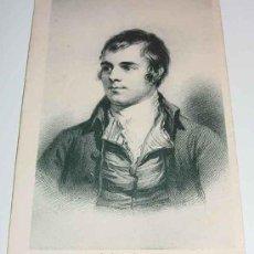 Postales: ANTIGUA POSTAL DEL POETA ESCOCES ROBERT BURNS (1759 / 1796) - NO CIRCULADA.. Lote 4444603