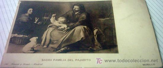 Postales: POSTAL , SAGRADA FAMILIA DEL PAJARITO MURILLO - Foto 2 - 26405406