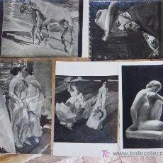Postales: OFERTA LOTE 5 POSTALES MUSEO SOROLLA Y ARTE MODERNO. Lote 11461563