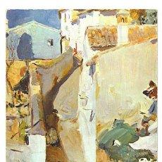Postales: CALLE DEL ALBAICÍN . SOROLLA . MUSEO SOROLLA . AÑO 1968. Lote 8704826