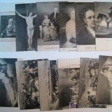 Postkarten - LOTE 12 POSTALES CUADROS Y RETRATOS DE GOYA - 1941 - 8834343