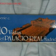 Postales: TARJETAS POSTALES PALACIO REAL. Lote 16304694
