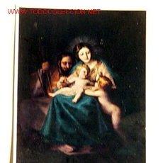Postales: POSTAL-MUSEO DEL PRADO.LA SAGRADA FAMILIA.GOYA.NO CIRCULADA.. Lote 1483908