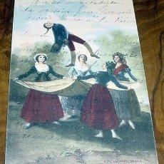 Postales: ANTIGUA POSTAL DE GOYA - EL PELELE - FOT. LAURENT - REVERSO SIN DIVIDIR - SIN CIRCULAR. Lote 1984559