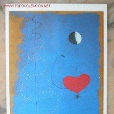 Postales: POSTAL CUADRO DE JOAN MIRÓ:DANCER,1925.. Lote 2854553