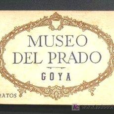 Postales: GOYA. ALBUM RETRATOS - MUSEO DEL PRADO. 16 POSTALES DE 20.. Lote 22903223