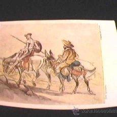 Postales: DON QUIJOTE. EDITORIAL ARTIS-MUTI. PINTADO CON LA BOCA. AÑO 1959. Nº 2105.. Lote 10481833