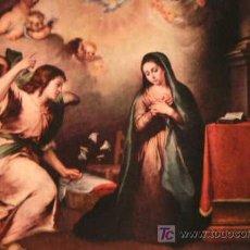 Postales: POSTALES - MURILLO - LA ANUNCIACION - ANTIGUA AÑO 1962 (POSTAL SIN CIRCULAR). Lote 24544320