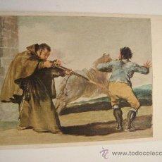 Postales: THE ART INSTITUTE OF CHICAGO.THE BANDIT MARGATO SHOT.GOYA.22040. Lote 11873235