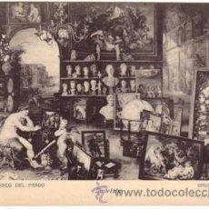 Postales: Nº 2831 POSTAL SIN DIVIDIR LA VISTA BRUEGHEL JAN MUSEO DEL PRADO 1228. Lote 26560075