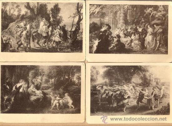 POST 378 - 6 POSTALES RUBENS - HAUSER Y MENET - VER FOTOGRAFÍA INTERIOR- 6 POSTALES (Postales - Postales Temáticas - Arte)