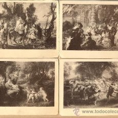 Postales: POST 378 - 6 POSTALES RUBENS - HAUSER Y MENET - VER FOTOGRAFÍA INTERIOR- 6 POSTALES . Lote 23133869