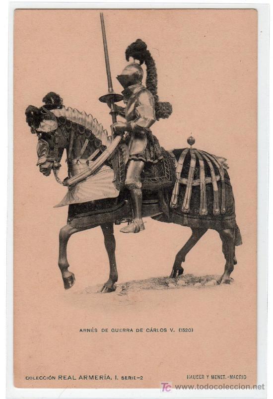 TARJETA POSTAL DE LA COLECCION REAL ARMERIA. I. SERIE 2. HAUSER Y MENET (Postales - Postales Temáticas - Arte)