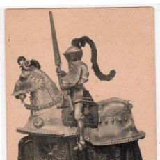 Postales: TARJETA POSTAL DE LA COLECCION REAL ARMERIA. I. SERIE 3. HAUSER Y MENET. Lote 12886840