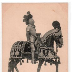 Postales: TARJETA POSTAL DE LA COLECCION REAL ARMERIA. II. SERIE 5. HAUSER Y MENET. Lote 12887299