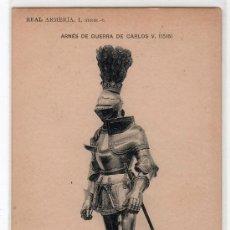 Postales: TARJETA POSTAL DE LA COLECCION REAL ARMERIA. I. SERIE 6. HAUSER Y MENET. Lote 12887451