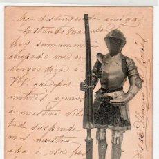 Postales: TARJETA POSTAL DE LA COLECCION REAL ARMERIA. I. SERIE 7. HAUSER Y MENET. Lote 12887465