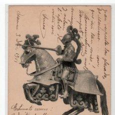 Postales: TARJETA POSTAL DE LA COLECCION REAL ARMERIA. II. SERIE 1. HAUSER Y MENET. Lote 12887548