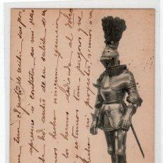 Postales: TARJETA POSTAL DE LA COLECCION REAL ARMERIA. I. SERIE 6. HAUSER Y MENET. Lote 12887617
