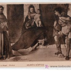 Postales: TARJETA POSTAL. ASUNTO MISTICO DE PORDENONE. 1869 HAUSER Y MENET. Lote 12902630