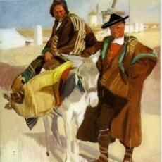 Postales: BONITA POSTAL DE LA PINTURA DE JOAQUIN SOROLLA (TIPOS MANCHEGOS )+ POSTALES Y MUCHO + EN MI TIENDA. Lote 12935287