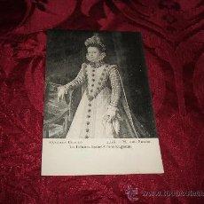 Postales: SANCHEZ COELLO-LA INFANTA ISABEL-CLARA-EUGENIA,MUSEO DEL PRADO FOT LACOSTE-MADRID. Lote 13018914