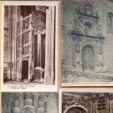 Postales: POST 313 - 4 POSTALES: SALAMANCA , ROUEN, BOURDEAUX, AVILA, 4 POSTALES MONUMENTOS DE ARTE. Lote 23152551