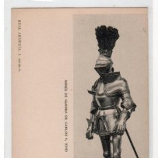 Postales: TARJETA POSTAL DE LA COLECCION REAL ARMERIA. I SERIE 6. HAUSER Y MENET. Lote 13081736
