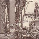 Postales: PS3312 'QUO VADIS, PAR MASTROIANNI. PRIMER ENCUENTRO DE VINICIO CON LIGIA'. CIRCULADA EN 1923. Lote 13730339