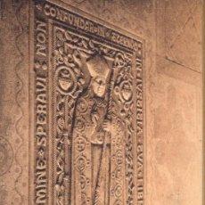 Postales: POST 234 - MONASTERIO DE RIPOLL - LAUDA SEPULCRAL OBISPO MORGADES - POSTAL NO CIRCULADA. Lote 24507768