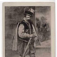 Postales: POSTAL: UN TRUHAN, VELAZQUEZ. HAUSER Y MENET Nº 1888. ANTERIOR A 1905. SIN CIRCULAR. Lote 14189598