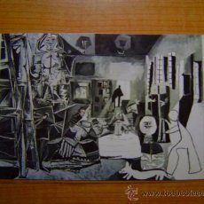 Postales: POSTAL LAS MENINAS CANNES 17 AGOSTO 1957 OLEO SOBRE LIENZO 194X260 CMS MUSEO PICASSO BARCELONA. Lote 14876632