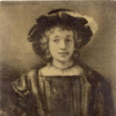 Postales: POST 110 - POSTAL NO CIRCULA REMBRANDT - THE SON OF REMBRANDT - COLL. R. KANN. 2054 F A ACKERMANN´S. Lote 15030719