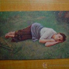 Postales: POSTAL JOSE PANDO PEREZOSA (MUSEO DE ARTE Y ARQUEOLOGIA DE BARCELONA) SIN CIRCULAR. Lote 15069077