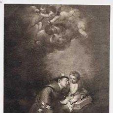 Postales: POSTALES: MURILLO. SAN ANTONIO DE PADUA. MUSEO PROVINCIAL DE SEVILLA. LL. SIN CIRCULAR. Lote 17060669