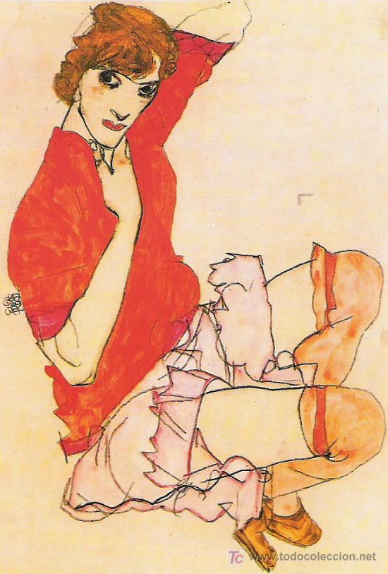 EGON SCHIELE - 1482 - (Postales - Postales Temáticas - Arte)