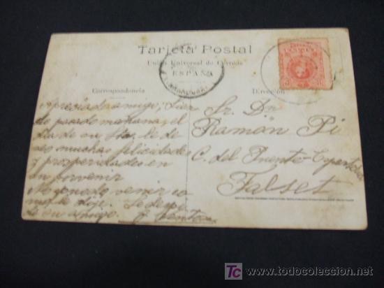 Postales: TARJETA POSTAL ANTIGUA - AÑO 1.916 - REVELACION - CUADRO DE A. LARRAGA - - Foto 2 - 17161427