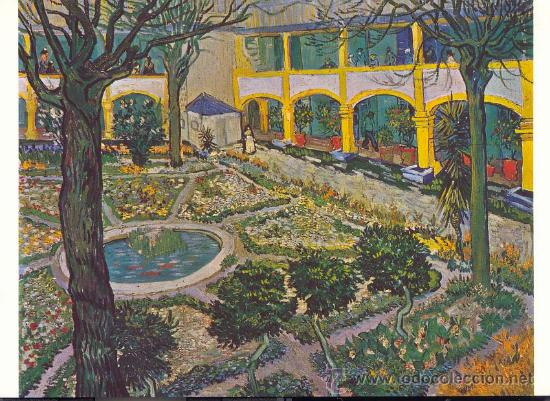 Pintura. le jardin de la maison de sante de vi - Verkauft durch ...