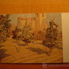 Postales: TARJETA POSTAL JOAQUIN MIR L´HORT DEL RECTOR (MUSEO DE ARTE Y ARQUEOLOGIA DE BARCELONA SIN CIRCULAR. Lote 59796653