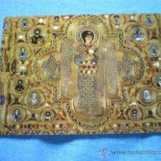 Postales: POSTAL ITALIA VENECIA BASILICA S. MARCO PALA DE ORO ARCANGEL S. MIGUEL ESCUELA VENETA NO CIRCULADA. Lote 110029908