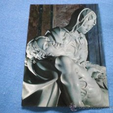 Postales: POSTAL ITALIA ROMA BASILICA S. PEDRO LA PIEDAD DE MIGUEL ANGEL NO CIRCULADA. Lote 18199724