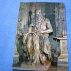 Postales: POSTAL ITALIA ROMA BASILICA S. PIETRO IN VINCOLI MOISES DE MIGUEL ANGEL NO CIRCULADA. Lote 18199759