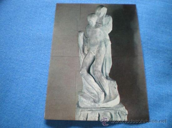 POSTAL ITALIA MILAN MUSEO CASTELLO STORZESCO PIEDAD RONDANINI MIGUEL ANGEL NO CIRCULADA (Postales - Postales Temáticas - Arte)