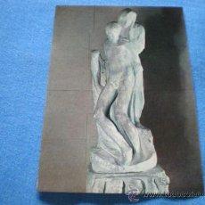 Postales: POSTAL ITALIA MILAN MUSEO CASTELLO STORZESCO PIEDAD RONDANINI MIGUEL ANGEL NO CIRCULADA. Lote 18199911